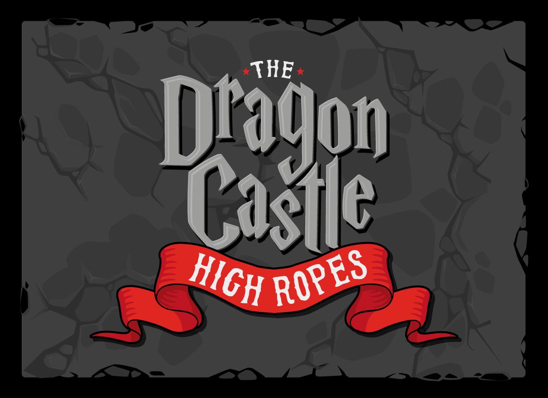 the dragon castle high ropes, knockhatch adventure park