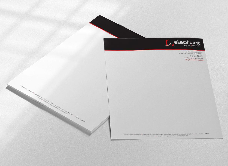 elephant-print-letterhead