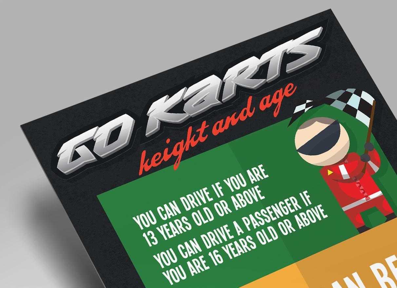 go karts, knockhatch adventure park